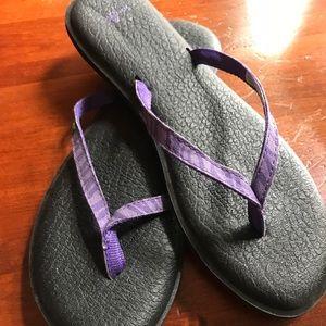 Women's sanuk flip flops